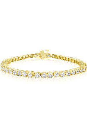 SuperJeweler 5 Carat Diamond Tennis Bracelet in 14K (13.3 g)