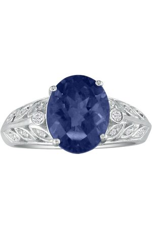SuperJeweler 1 3/4 Carat Sapphire & Diamond Ring in 14k
