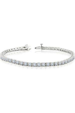 SuperJeweler 7 Inch 14K (11.2 g) 8 Carat TDW Round Diamond Tennis Bracelet