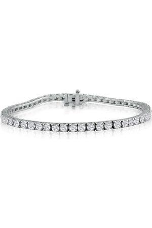 SuperJeweler 6 Inch 14K (9.6 g) 4 3/8 Carat Diamond Tennis Bracelet