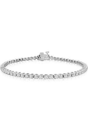 SuperJeweler 2 Carat Diamond Tennis Bracelet in 14K (9 g)