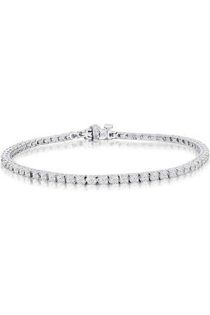SuperJeweler 3 Carat Diamond Tennis Bracelet in 14K (11.5 g)