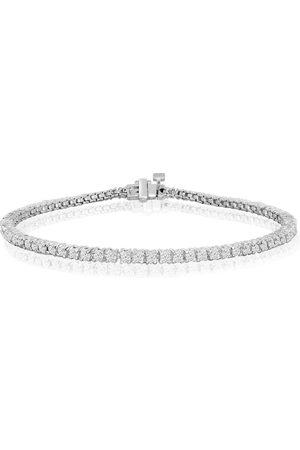 SuperJeweler 8 Inch (5.9 g) 2 1/4 Carat Diamond Tennis Bracelet