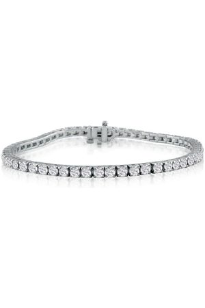 SuperJeweler 5 Carat Genuine Diamond Tennis Bracelet in 14K (11.2 g)