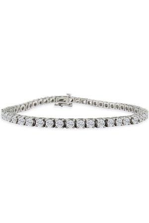 SuperJeweler Women Bracelets - 6 Carat Diamond Tennis Bracelet in 14k (13 g)