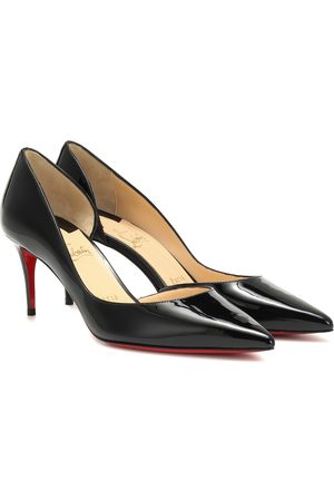 Christian Louboutin Iriza 70 patent leather pumps