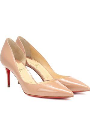 Christian Louboutin Women Heels - Iriza 70 patent leather pumps