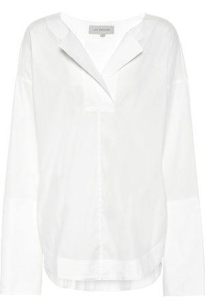Lee Mathews Women Blouses - Elsie cotton-blend blouse