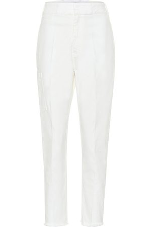 Haider Ackermann High-rise straight jeans