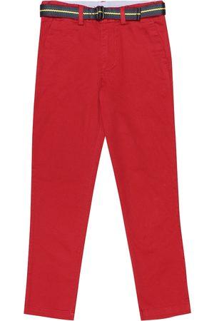 Ralph Lauren Girls Stretch Pants - Stretch-cotton pants