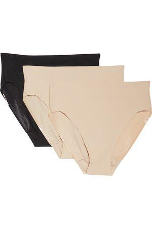 TC Women's 3-Pack Matte Micro High Cut Panties