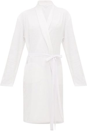 SKIN Terry-towelling Cotton Robe - Womens