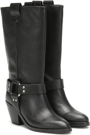 See by Chloé Texan leather boots