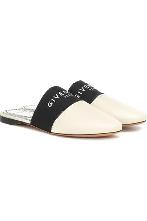 Givenchy Women Shoes - Bedford leather slippers