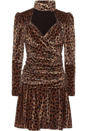 The Attico Women Printed Dresses - Leopard-print minidress