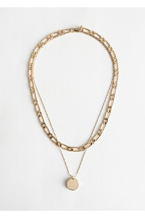 & OTHER STORIES Pendant Mutli Chain Necklace