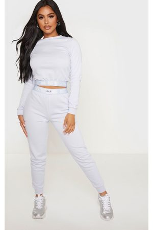 PRETTYLITTLETHING Women Sweatpants - Petite Baby Lounge Jogger