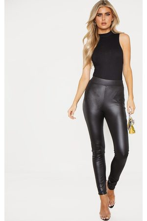 PRETTYLITTLETHING Tall Wet Look Skinny Pants