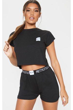 PRETTYLITTLETHING T-Shirt And Short Pajama Set