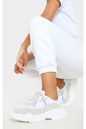 PRETTYLITTLETHING Lace Up Chunky Sneakers