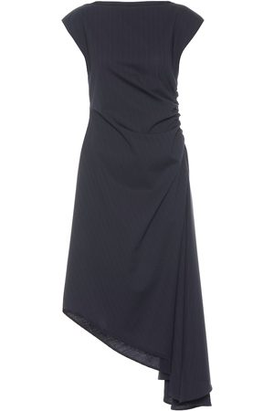 MM6 MAISON MARGIELA Asymmetric midi dress