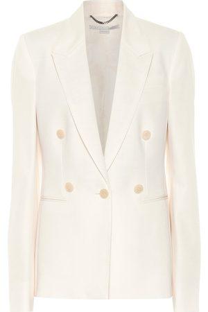 Stella McCartney Wool-crêpe blazer