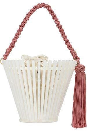 Montunas Trellis Lirio Acetate Bucket Bag