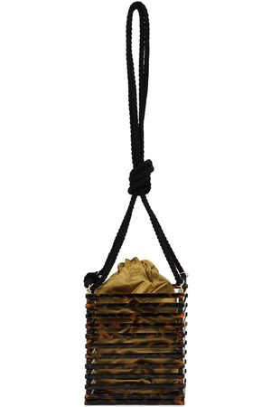 Montunas Vanda Acetate Shoulder Bag W/black Rope