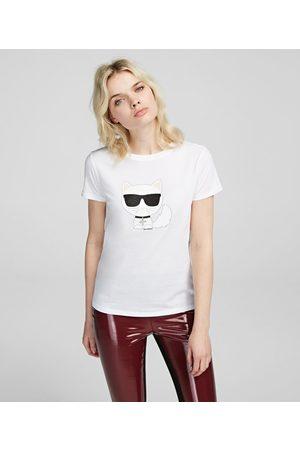 Karl Lagerfeld Women T-shirts - K/Ikonik Choupette T-Shirt