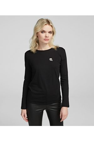 Karl Lagerfeld K/Ikonik Long Sleeve T-Shirt