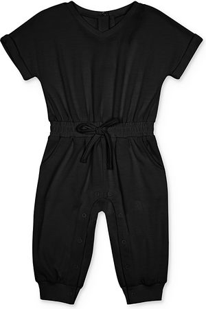 HABITUAL Girls' Jayla V-Neck Jumpsuit - Baby