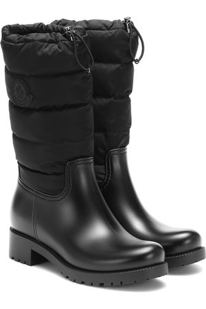 Moncler Ginette rubber ankle boots