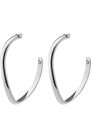 DEMARSON Calypso Curve Hoop Earrings