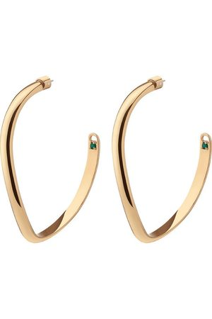DEMARSON Women Earrings - Calypso Curve Hoop Earrings