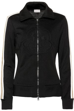 Moncler Logo cotton-blend track jacket