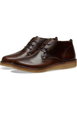 Astorflex Men Heeled Boots - Ettoflex Leather Wedge Sole Boot
