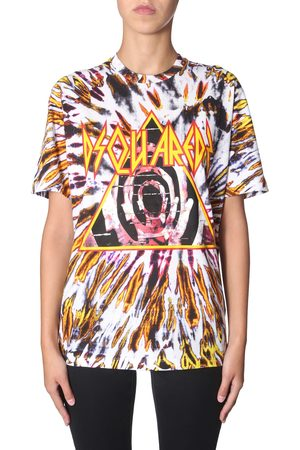 Dsquared2 T-shirt con stampa tie and dye