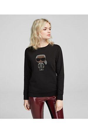 Karl Lagerfeld Women Sweatshirts - Sudadera strass K/Ikonik