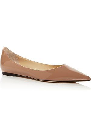 Jimmy choo Women's Love Pointed Toe Ballet Flats