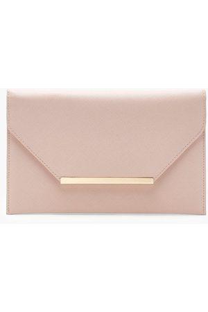Boohoo Womens Crosshatch Clutch Bag - - One Size