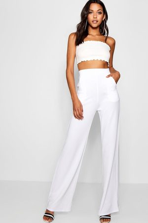 Boohoo Womens Tall High Waisted Pants - - 4