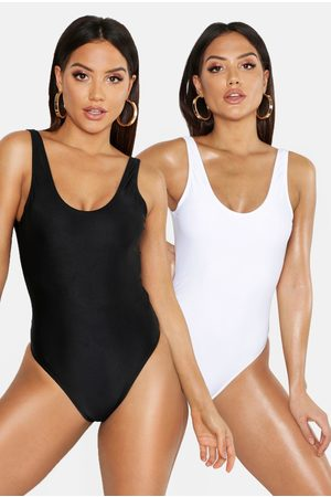 Boohoo Womens 2 Pack Bathing Suit - - 2