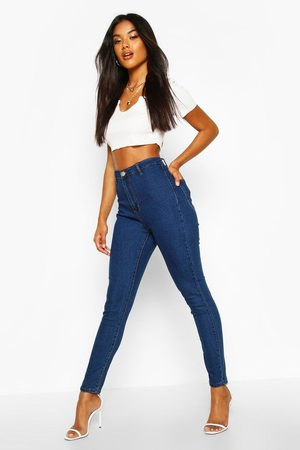 Boohoo Womens High Rise Disco Jean - - 2