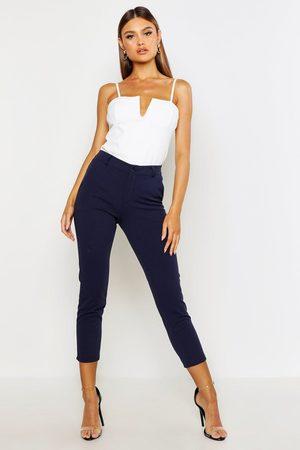 Boohoo Womens Tailored Tapered Pants - - 4