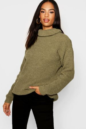 Boohoo Womens Tall Roll Neck Sweater - - 4