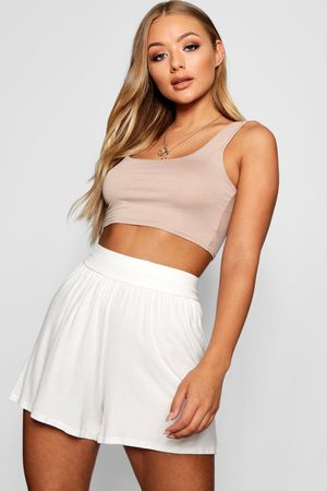 Boohoo Womens Basic Flippy Shorts - - 4