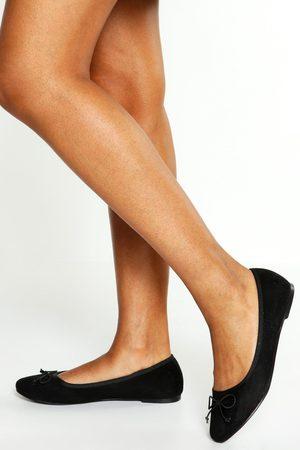 Boohoo Womens Round Toe Ballet Flats - - 5