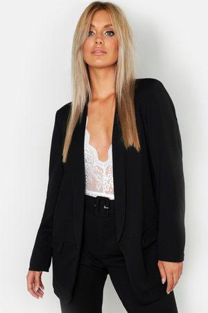 Boohoo Womens Plus Tailored Blazer - - 12