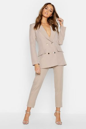 Boohoo Womens Double Breasted Military Blazer - - 4
