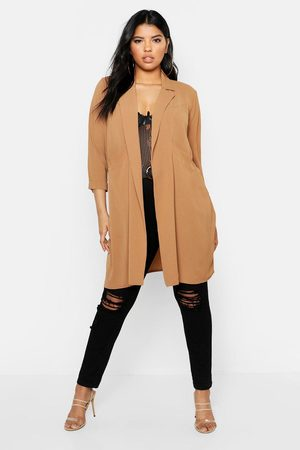 Boohoo Womens Plus Woven Pocket Duster - - 12